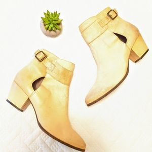 NEW Free People Tan Boots Size 41